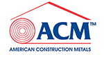 American Construction Metals, ACM logo